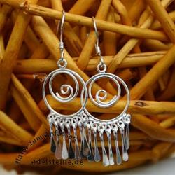 Silver Earring SIOH14