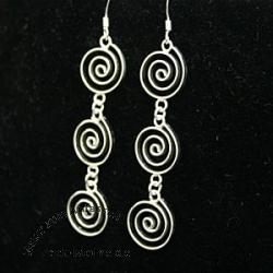 Silver Earring SIOH20