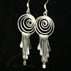 Silver Earring SIOH21