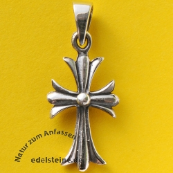 Silver Cross Pendant SIKR16 Small