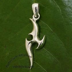 Tribal Silver Pendant SIAH2