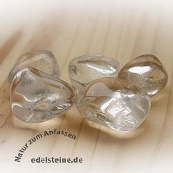 Bergkristall Trommelsteine AA-Qualität 500g