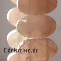 Rose Quartz Bracelet Oval