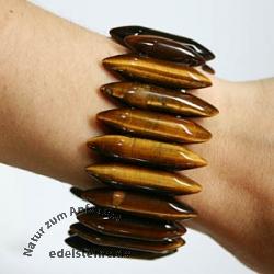 Tigerauge Armband Stiftform