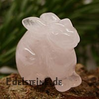 Rabbit Rose Quartz
