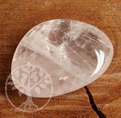 rosenquarz chakrastein flacher rosenquarz stein a edelsteine grosshandel. Black Bedroom Furniture Sets. Home Design Ideas