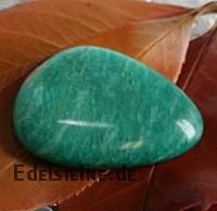 Amazonit Chakrastein Flacher Amazonit Edelstein