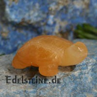 Turtle Orange Calcite