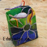 Handmade Paper- Bag Coloured 10 pieces
