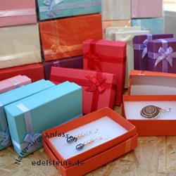 Box for Jewellery coloured