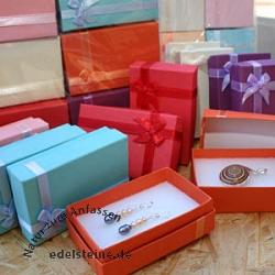 Schmuckboxen aus Papier rechteckig