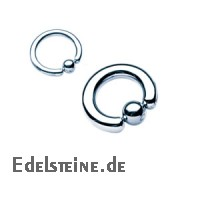 Titanium-Klemmkugelring Standart TUC16