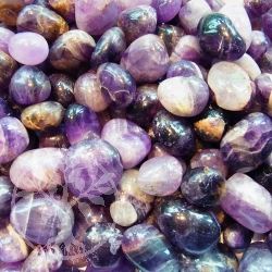 Amethyst Tumbled Stone 1 kg India AB