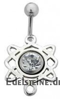 Bauchnabel-Schild Celtic Dangle