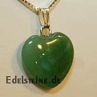 Aventurine Heart Pendants Mini 20mm
