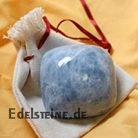 Blue Calcite Massage Stone