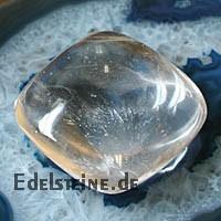 Bergkristall Massagestein