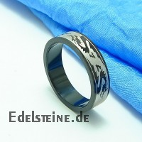 Stainless-Steel Ring ER420 Dragon