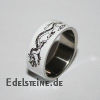 Stainless-Steel Ring ER450 Dragon 2