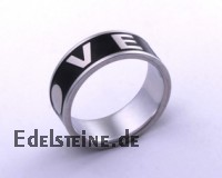 Stainless-Steel Ring ER610 LOVE