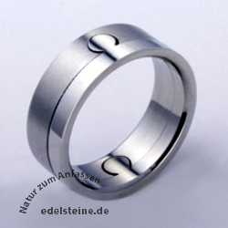 Stainless-Steel Ring  Circle ER750 25 pc