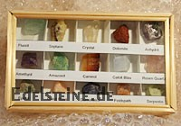 Mineralienbox 15 Steine