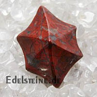 Red Jasper Pendant STEPLA ca. 30mm