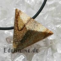 Landschaftsjaspis Anhaenger Triangle