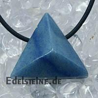 Blauquarz Anhaenger Triangle
