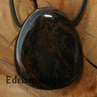 Gold Obsidian Stein- Anhaenger BIG