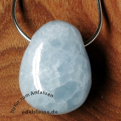 Calcite Blue Pendant