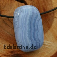 Chalcedony Pendant Rectangled