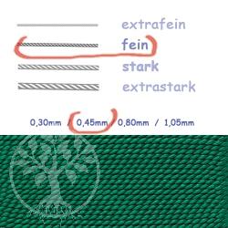 Natural Silk green 0,45mm