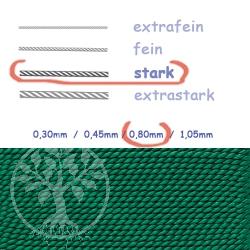 Perlseide Grüne  0,80mm stark
