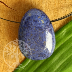 Dumortierite Pendant Big Size 35/40mm Blue