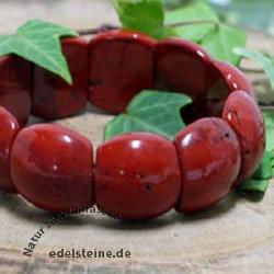 Roter Jaspis Armband Beatle