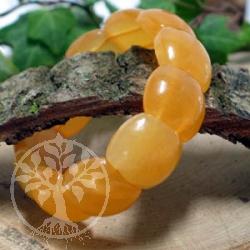 Orangen Calcit Armband -Beatle-