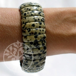 Dalmatiner-Stein Armband