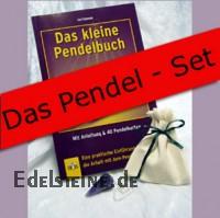 Amethyst Pendel - Set Amethyst Pendel mit Buch
