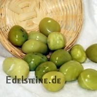 Korea Jade / Serpentin Trommelstein