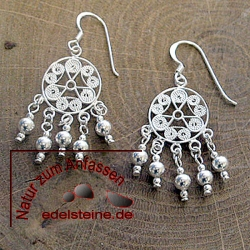 Silver Earring ETHNO 1