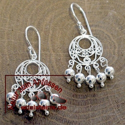 Silver Earring ETHNO 2