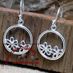 Silver Earring ETHNO 4
