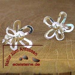 Silber-Ohrstecker FLOWER
