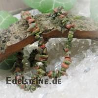Unakit/Epidot Splitterarmband
