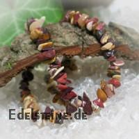 Mookait Armband mit kleinen Edelsteinchen