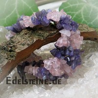 Amethyste - Rose Quartz Bracelet Polly