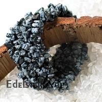 Snowflake Obsidian Bracelet Polly