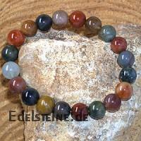Stone Mix Bracelet ball Rutilated Quartz 13.5-14.5mm