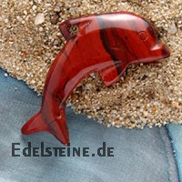 Red Jasper Dolphin Big